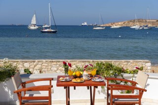 gallery irene hotel paros sea view