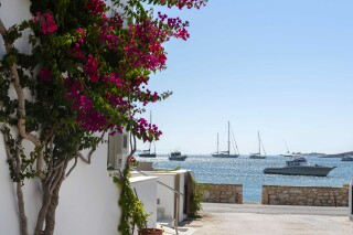gallery irene hotel paros view of the sea