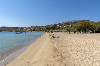 naoussa irene hotel paros sandy beach
