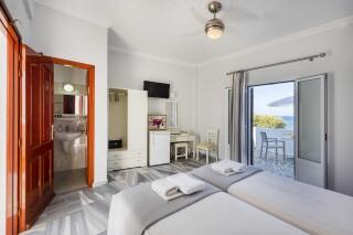 rooms irene hotel paros amenities