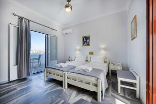 rooms irene hotel paros bedroom