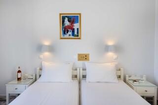rooms irene hotel paros bedroom area