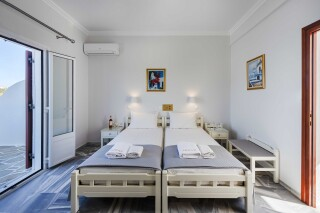 rooms irene hotel paros double room