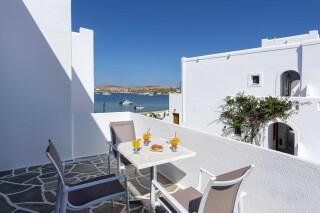 rooms irene hotel paros sea view balcony