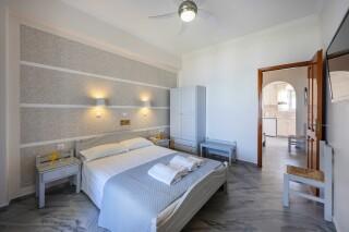 studios irene hotel paros bedroom