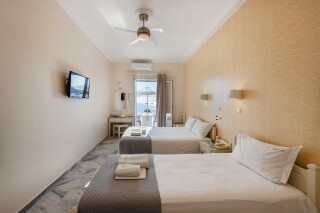 studios irene hotel paros two beds